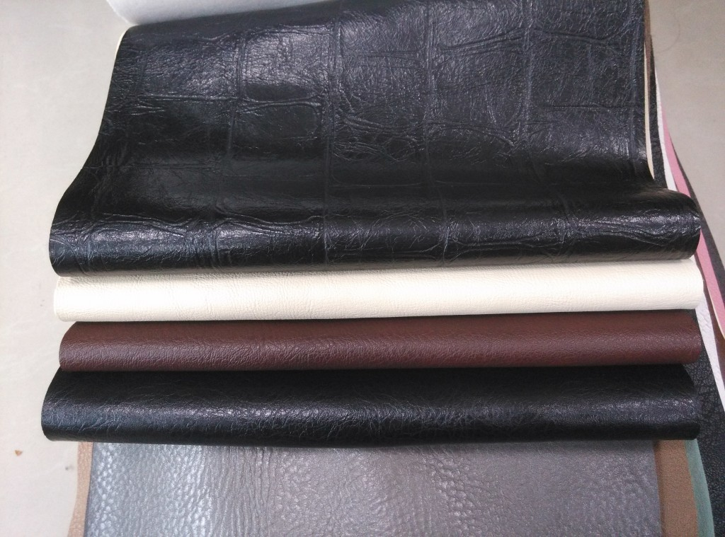 different lines synthetic leather