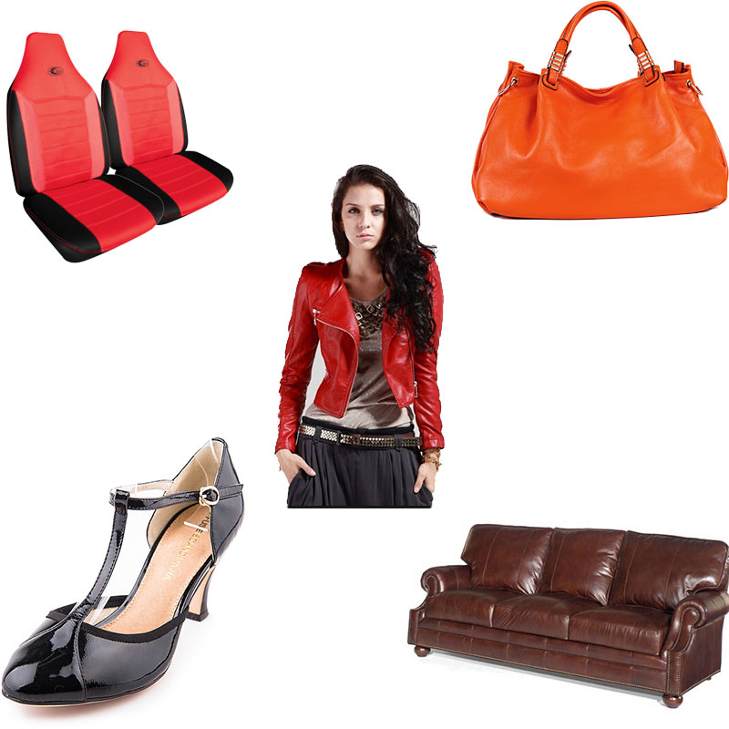 synthetic leather use
