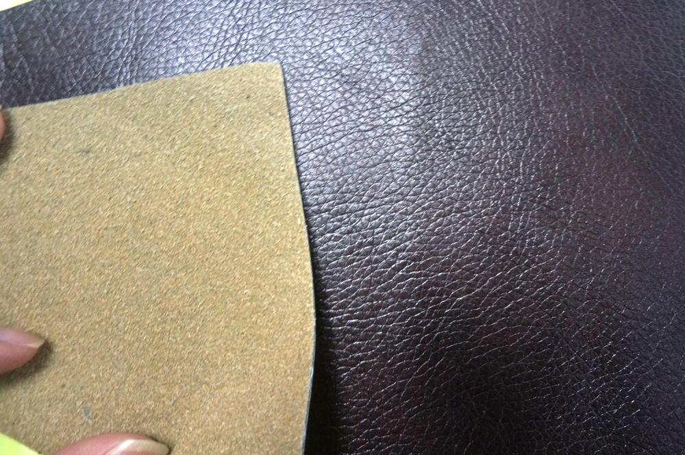 Pvc Pu Bonded Leather For Furniture Handbag Bz Leather