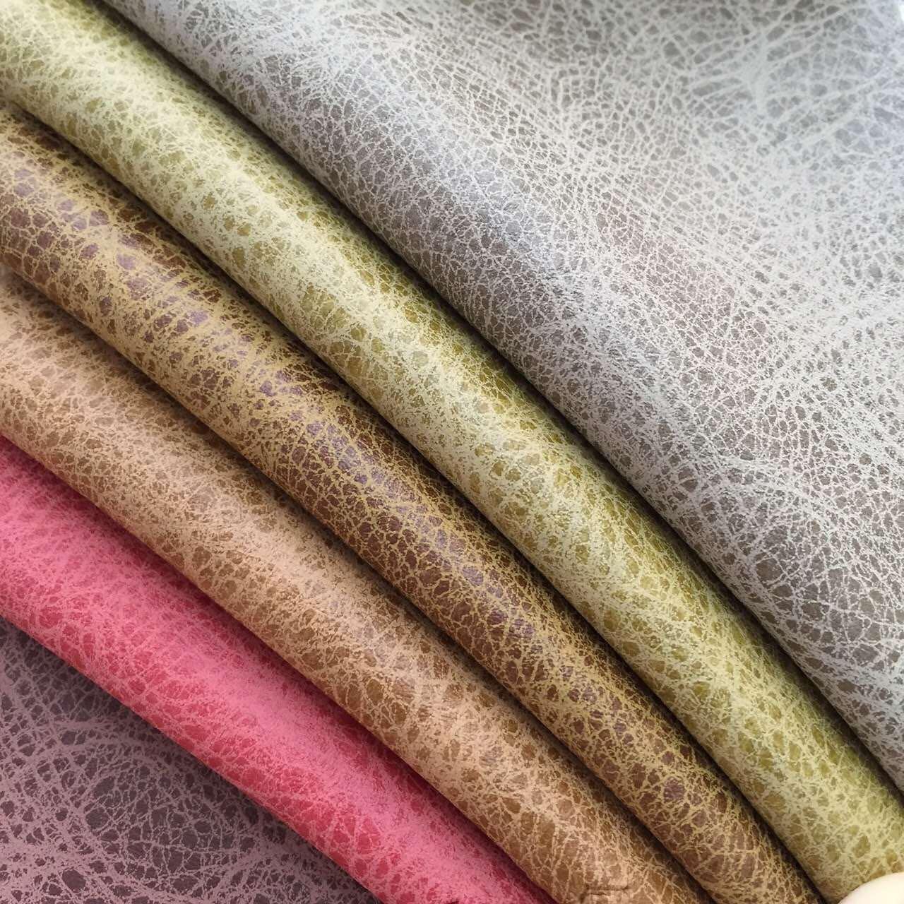 Pu Coated Fabrics Sofa Material Bz Leather Company