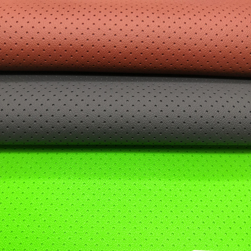 Perforated Vinyl Fabric Manufacturers China Bz Leather